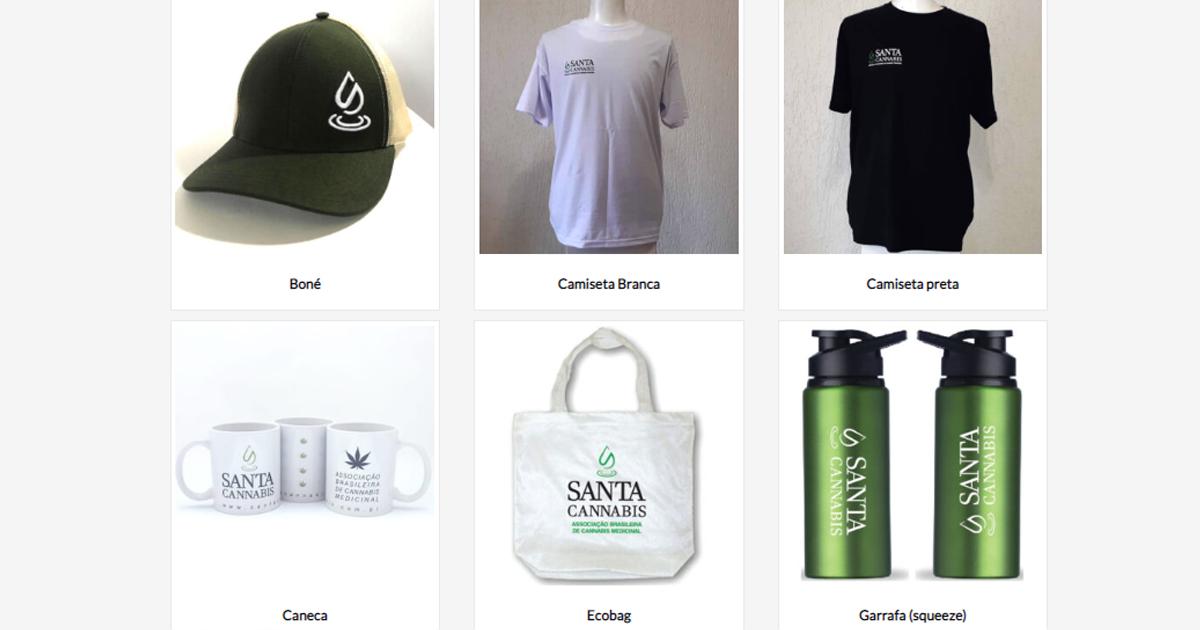 Nossa loja já está no ar: camisetas, bonés, bolsas, canecas e garrafas